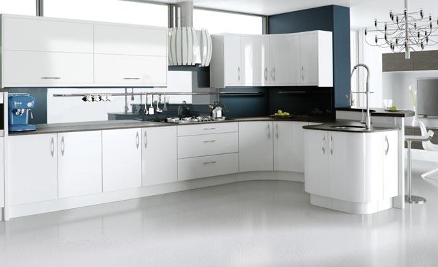 Image Result For Modern White Kitchen