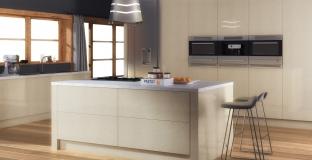 Ultra Gloss Limestone Kitchen, Tyrone Mid Ulster NI Kitchens