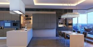 Ultra Matt Metallic Basalt Metallic Cashmere Kitchen, Tyrone Mid Ulster NI Kitchens