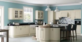 Jefferson Oak & Ivory kitchen, Tyrone Mid Ulster NI Traditional Kitchens
