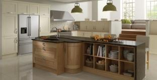 Madison Ivory & Oak kitchen, Tyrone Mid Ulster NI Traditional Kitchens