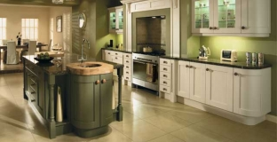 Madison Ivory & Olive kitchen, Tyrone Mid Ulster NI Traditional Kitchens