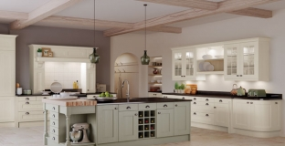 Wakefield Ivory & Sage Green kitchen, Tyrone Mid Ulster NI Traditional Kitchens