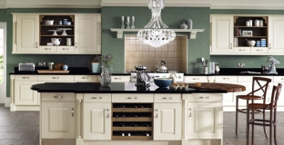 Windsor Ivory kitchen, Tyrone Mid Ulster NI Traditional Kitchens